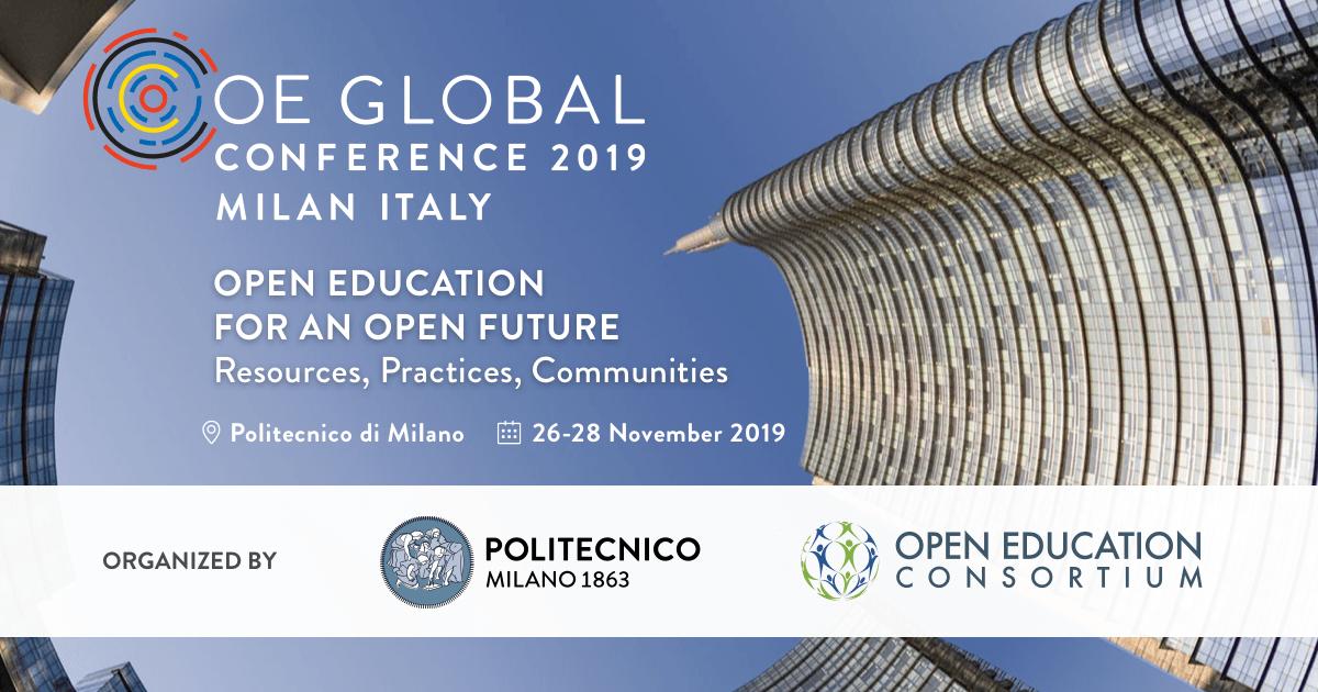 CFP: Open Praxis – OE Global 2019